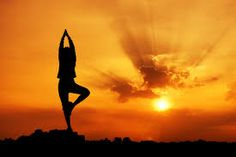 Yoga - I do yoga on occasion to help me destress. I love the way it makes me feel.