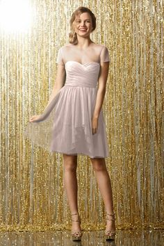 Wtoo Maids Dress 502 | Watters.com  This one in the nude color!