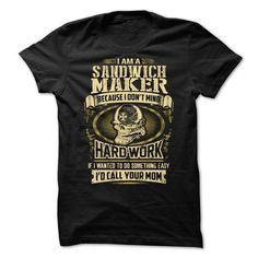 Sandwich Maker T Shirts, Hoodies Sweatshirts. Check price ==► http://store.customtshirts.xyz/go.php?u=https://www.sunfrog.com/No-Category/Sandwich-Maker-.html?41382