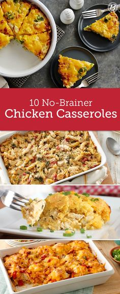 Dinner's not far off when you have chicken in the fridge and these recipes up your sleeve. As simple as they are delicious, these recipes prove chicken's not boring, it's versatile! Turkey Recipes, Chicken Recipes, Dinner Recipes, Chicken Meals, Dinner Ideas, Oven Chicken, Dinner Entrees, Chicken Bacon, Chicken Pasta