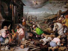 Kunsthistorisches Museum: Leandro Bassano (1557-1622) -- January