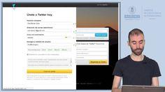 Videotutorial: Cómo crear una cuenta en #Twitter
