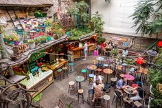 Ruin pubs in Budapest have a vibe all their own. From crazy funky to outdoor garden party, you can find any atmosphere you're looking for at a ruin bar.