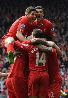 Early lead for #LFC against Spurs at Anfield. #MakeUsDream