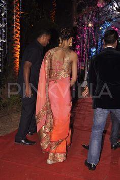Deepika Padukone & Ranveer Singh at Ahana Deol's Wedding Reception   PINKVILLA
