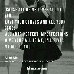 John Legend feat. The Highend Cover - All Of Me