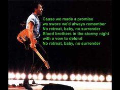 Bruce Springsteen & The E Street Band Live 1975 85 NO SURRENDER.wmv - YouTube