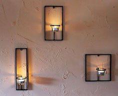 Wall Mounted Tea Light Holder ...