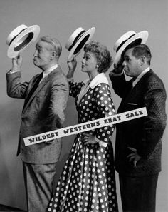 LUCILLE BALL Awesome PHOTO I Love Lucy STRAW HAT Desi Arnaz MAURICE CHEVALIER
