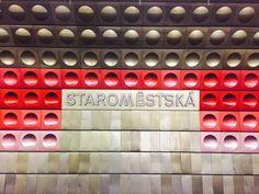 Metro station, Prague, Czechia
