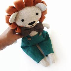 Lion Toy Sock Lion Archer Lion Sock Animal Lion Plush Lion Handmade Lion Holiday Lion