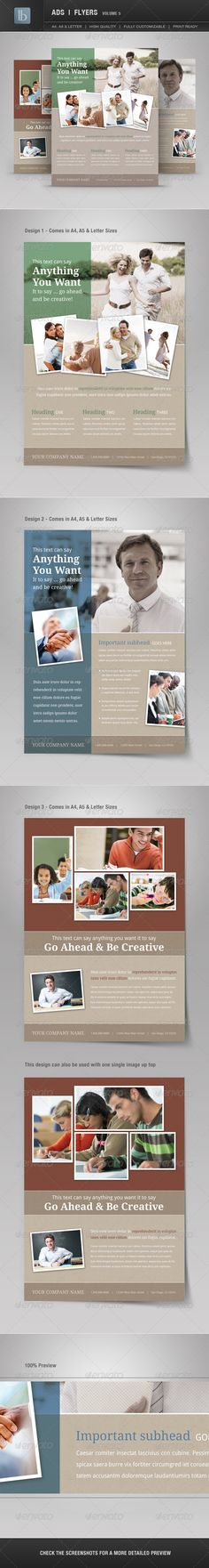 Ads | Business Flyers | Volume 5 - GraphicRiver Item for Sale