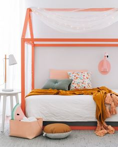 Kids room with splashes of colour