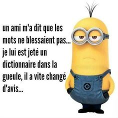 69 Ideas Funny Quotes Minions Words For 2019 Minions Images, Minions Quotes, Jokes Images, Minion Words, Minion Humour, Funny Minion, Dont Hurt Me, Funny Love, Good Morning Quotes
