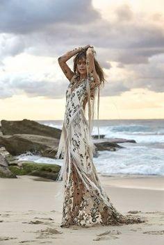 bc8b266484 Bohemian Wedding Dresses, Boho Dress, Chic Wedding, Fringe Wedding Dress,  Wedding Gowns