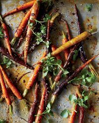 Nov. '12:  Chipotle-Roasted Baby Carrots