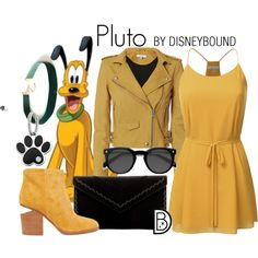 A fashion look from August 2017 by leslieakay featuring IRO, Alexander Wang, Danielle Nicole, EyeBuyDirect.com, disney, disneybound and disneycharacter
