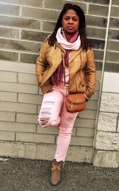 Ageless Style Linkup… – Nzuri N* Simplicity Bright Lipstick, Style Matters, Look Older, Dimples, Faux Leather Jackets, Freckles, Dark Hair, Happy New, Winter Jackets