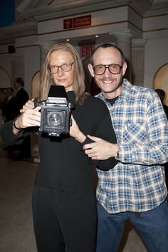 Me and Annie Leibovitz