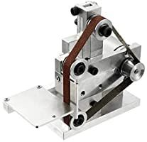US Small DIY Polishing Machine Multifunctional Grinder Mini Electric Belt Sander Mini Belt Sander, Belt Grinder, Electric, Grinding Machine, Turning Tools, Plate, High Speed Steel, Work Tools, Fibre