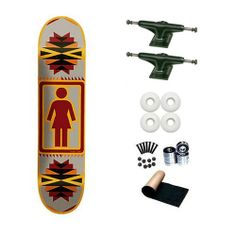 d6e1c0ab6efa Girl Brandon Biebel Navajo 7.75 Skateboard Deck Complete by Girl.  65.99.  Brand New Top Quality Girl Skateboard Complete