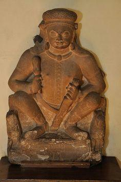 Surya - Kushan Period - Kankali Mound - ACCN 12-269 - Government Museum - Mathura