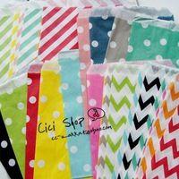 500pcs=20colors sortierte behandeln taschen, 5x7 lebensmittelecht süßigkeiten für papiertüten, partytüten