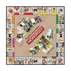 Antique Logos Personalized Monopoly Game - 28 Photos
