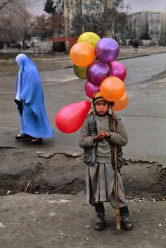 Balloons in Afghanistan