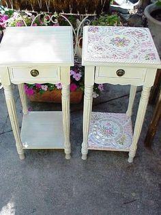 love mosaic furniture...it makes each piece original...