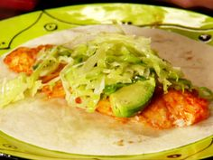 Fish Tacos Recipe : Anne Burrell : Food Network - FoodNetwork.com