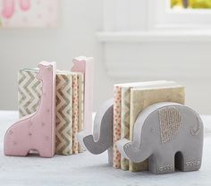 Suede Bookends | Pottery Barn Kids