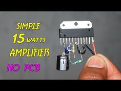 Powerful 40 Watts Amplifier Without PCB - YouTube