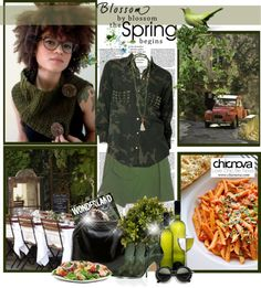 """""""Blossom by Blossom Spring begins"""" by christiana40 ❤ liked on Polyvore"""