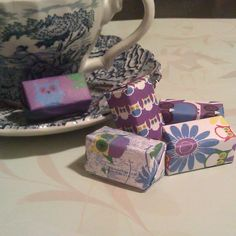 Wrapped Sugar Cubes
