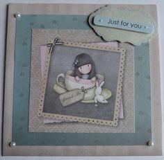 Alice In Wonderland Handmade Card Tea Time Handmade Card