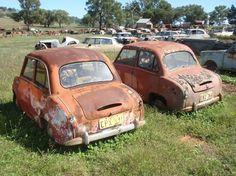 Goggomobiles found in Australia