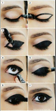 Makeup list to go through