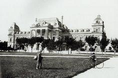 Casa de Gobierno en la década de 1890