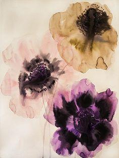 Lourdes Sanchez, wildflowers 1 2013, watercolor