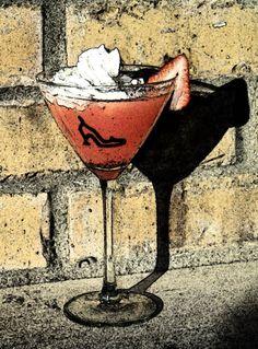 Strawberry Shortcake Martini #signaturedrink #FairyGodmothers