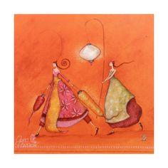 carte-postale-gaelle-boissonard-filles-aux-lanternes.jpg (1200×1200)