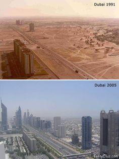 Dubai; as time goes by.  https://questingquirkily.wordpress.com
