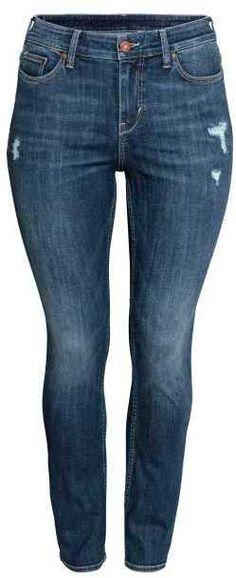 H&M H&M+ Straight Regular Jeans