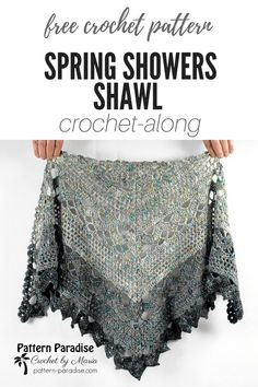 Spring Showers Shawl CAL: Part 1 | Pattern Paradise