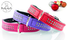 Diamond Petit Dog Collars - Muddy Mutts and Pocket Pups Luxury Christmas Presents, Luxury Dog Collars, Other Accessories, Small Dogs, Swarovski Crystals, Beds, Pup, Sparkle, Coats