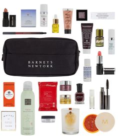 The Love Yourself event is here! Spend $200 on beauty and fragrances in stores or online, and receive this cosmetics bag full of our favorite things!