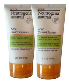 NEUTROGENA NAT ACNE CRM CLNSR 5 OZ *** You can find out more details at the link of the image.