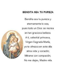 bendita sea tu pureza hermana glenda