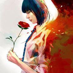 謙譲 #illustration #girl #girls #school #japan #drawing #photoshop #art #manga #love #follow #l4l #tflers #instagood #instalike #cute #beautiful #animeartshelp #イラスト #イラストレーター #絵 #画 #制服 #女子高生